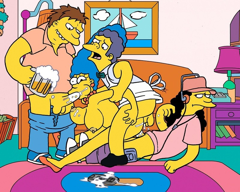 Simpsons Xxx Cartoon