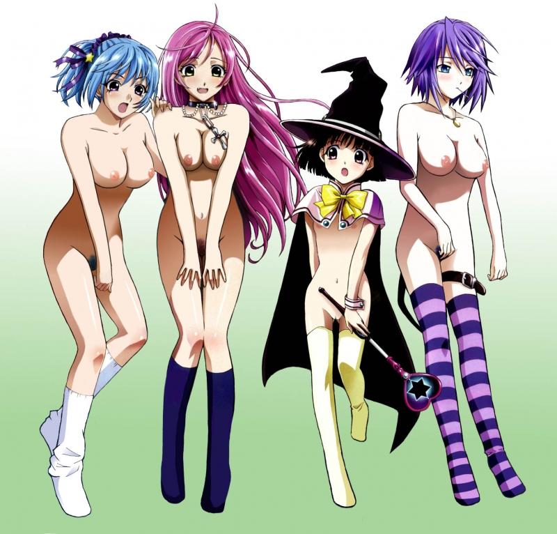 635010 - Kurumu_Kurono Mizore_Shirayuki Moka_Akashiya Rosario_Vampire Yukari_Sendo.jpg