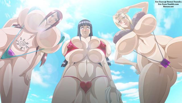 Naruto Sakura Tsunade Mei Terumi Kushina Uzumaki Tsunade, Hinata, Kushina.jpg