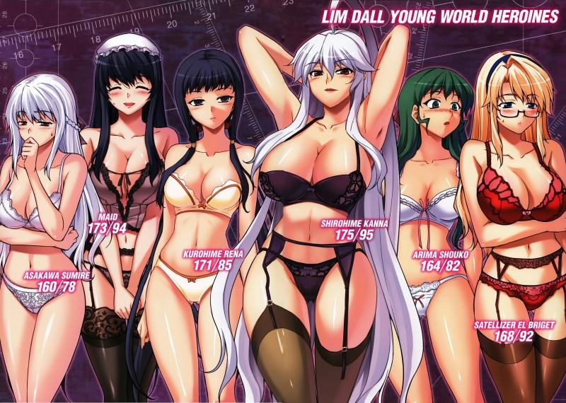 1340462 - Arima_Shouko Asakawa_Sumire Freezing Kanna_Shirayuki Kurohime_Rena Onihime_VS Satellizer_El_Bridget Zero(manhwa).jpg