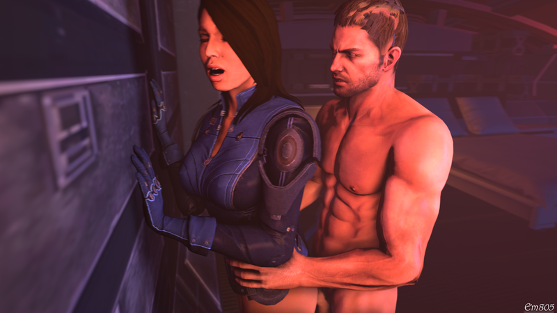 1264856 - Ashley_Williams Chris_Redfield Mass_Effect Mass_Effect_3 Resident_Evil crossover em805 source_filmmaker.png