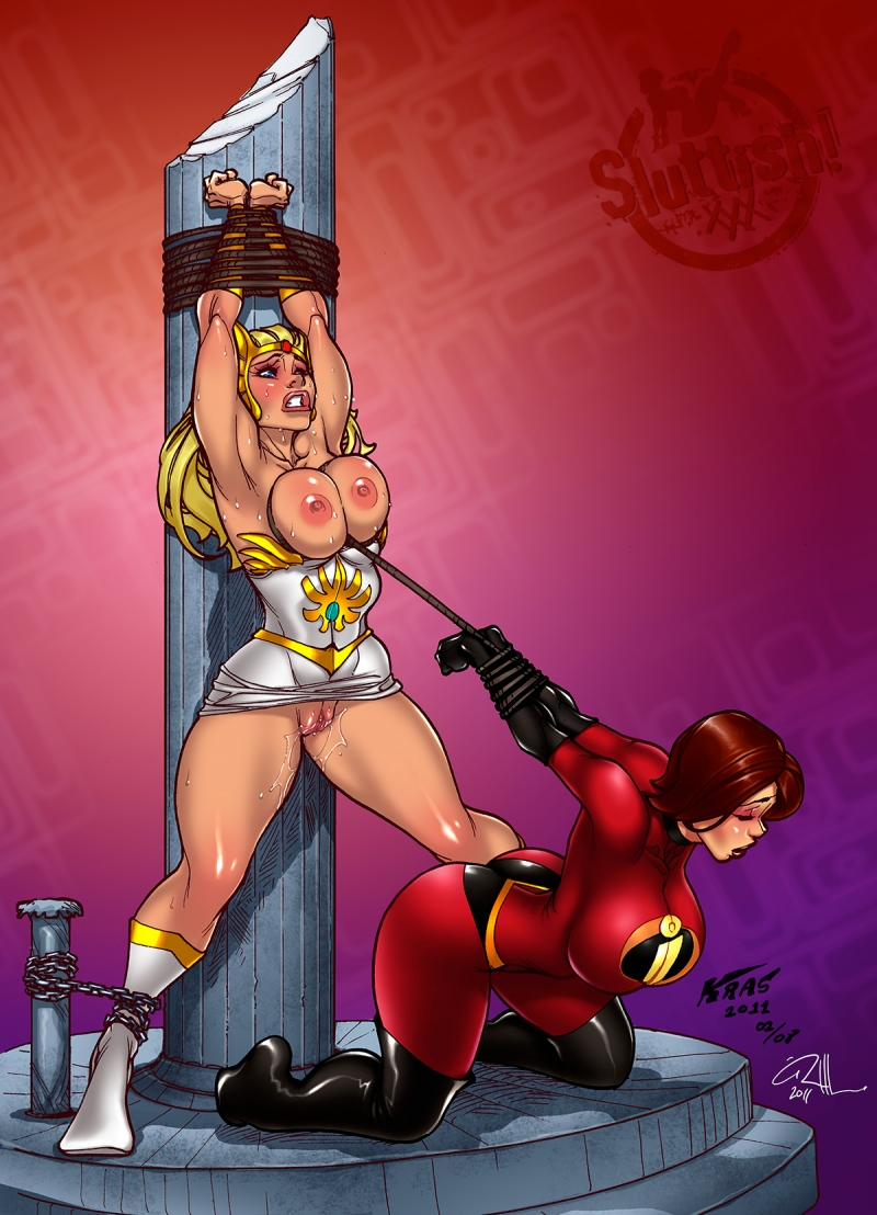 Bulma Helen 1050515 - Helen_Parr Kras Masters_of_the_Universe She-Ra The_Incredibles crossover.jpg