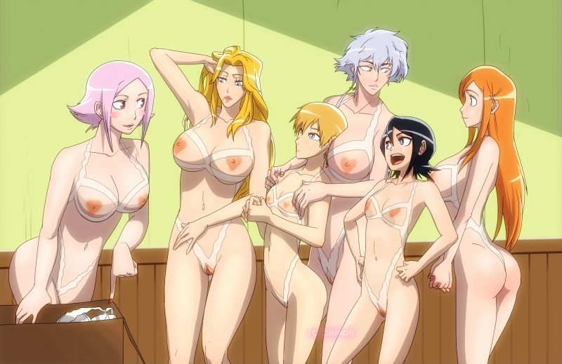Bleach Girls Hot