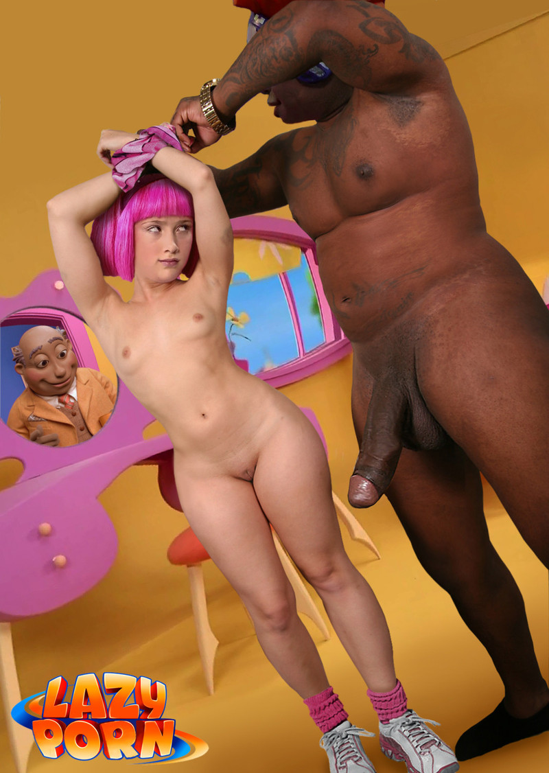 lazy town stephanie naked pantyhose