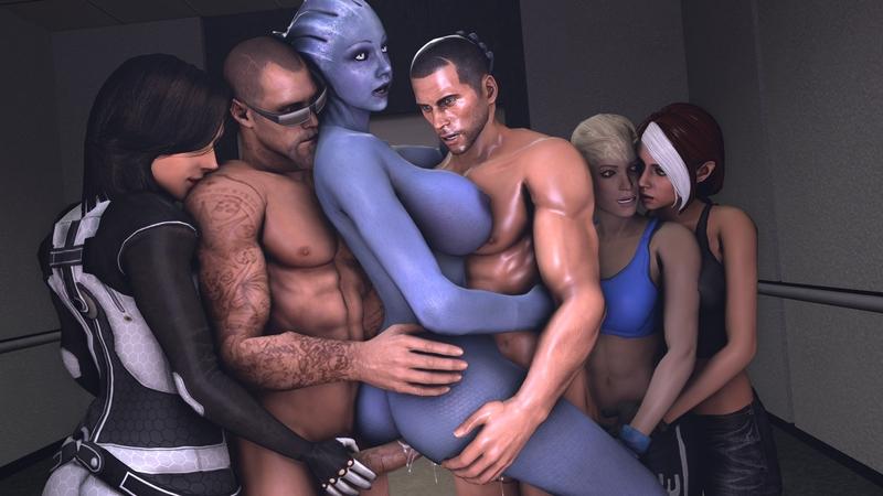 1713464 - Asari Cassie_Cage Commander_Shepard Francis GinKasu Left_4_Dead Liara_T'Soni Marvel Mass_Effect Miranda_Lawson Mortal_Kombat Rogue X-Men crossover source_filmmaker.jpeg