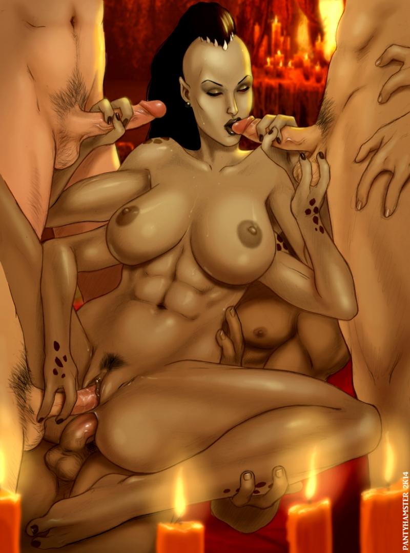 Порно Mortal Kombal