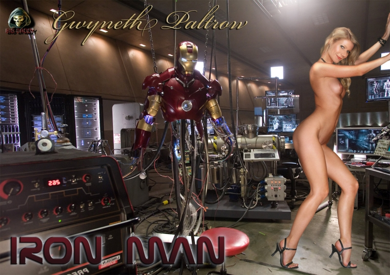 Iron Man Nude