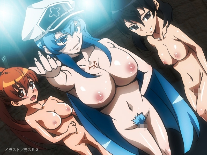 Who wants to fuck these anime babes will have to go through Esdeath first
