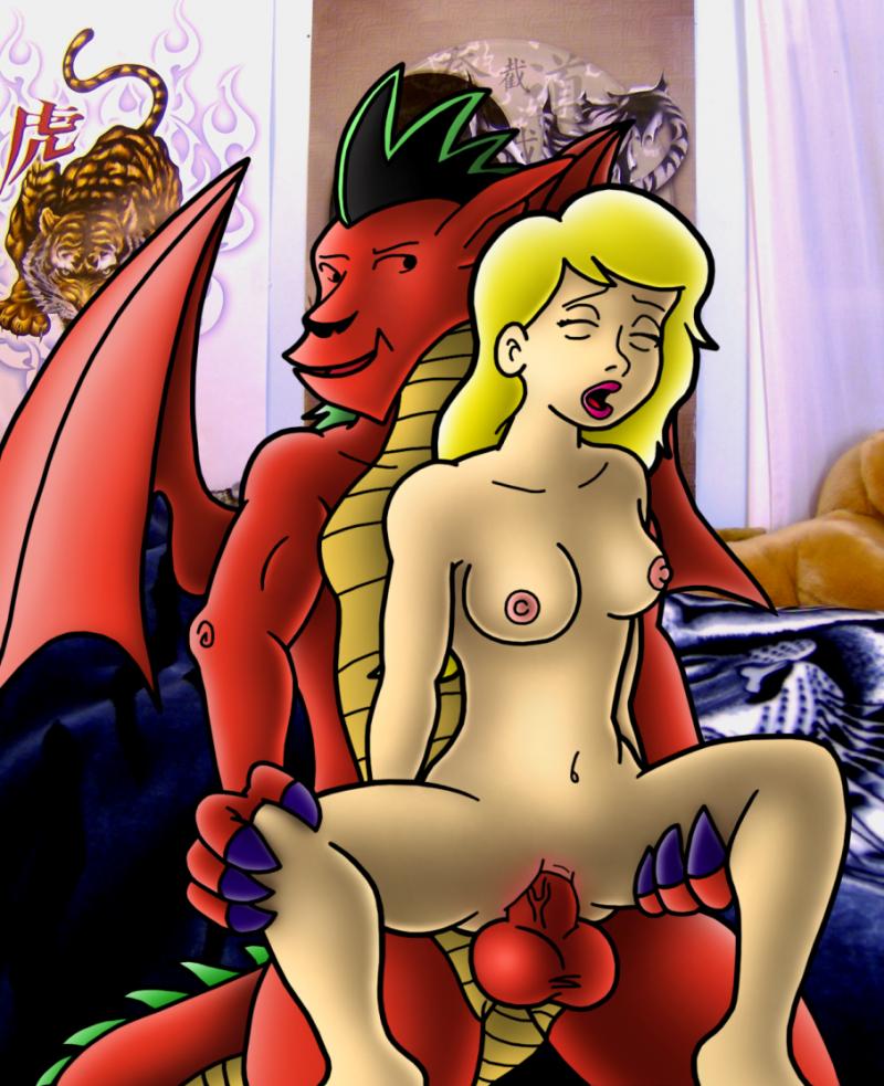 дракон порно американський