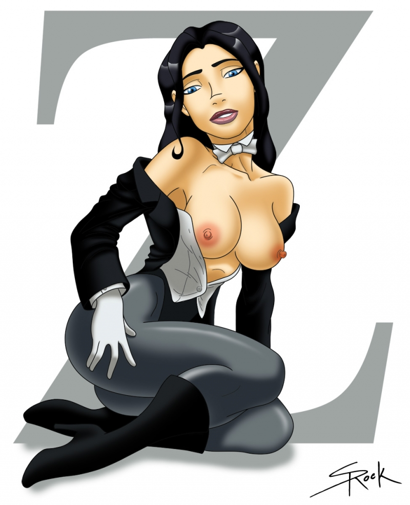 Zatanna always has something cool to flash sans any magic tricks