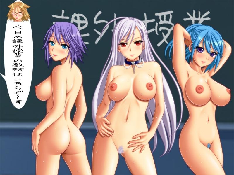 720647 - Kurumu_Kurono Mizore_Shirayuki Moka_Akashiya Rosario_Vampire Shizuka_Nekonome.jpg