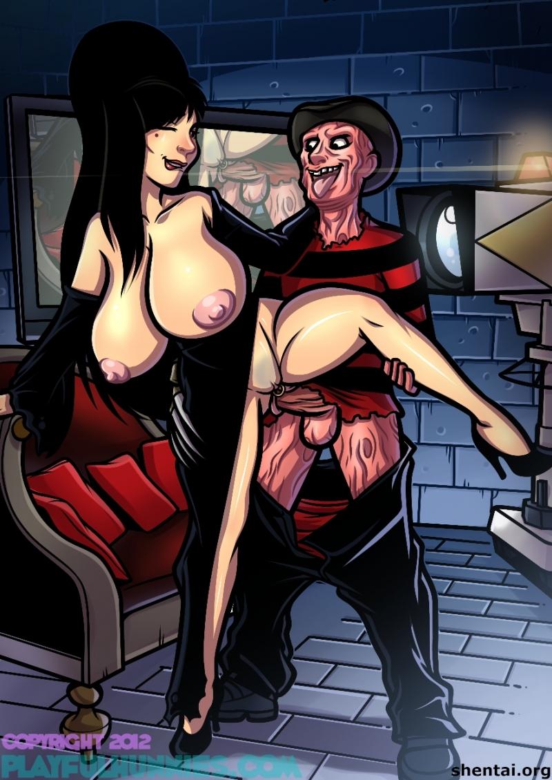 1290938 - Elvira Elvira_Mistress_of_the_dark Freddy_Krueger Nightmare_on_Elm_Street crossover playfulhunnies.jpg