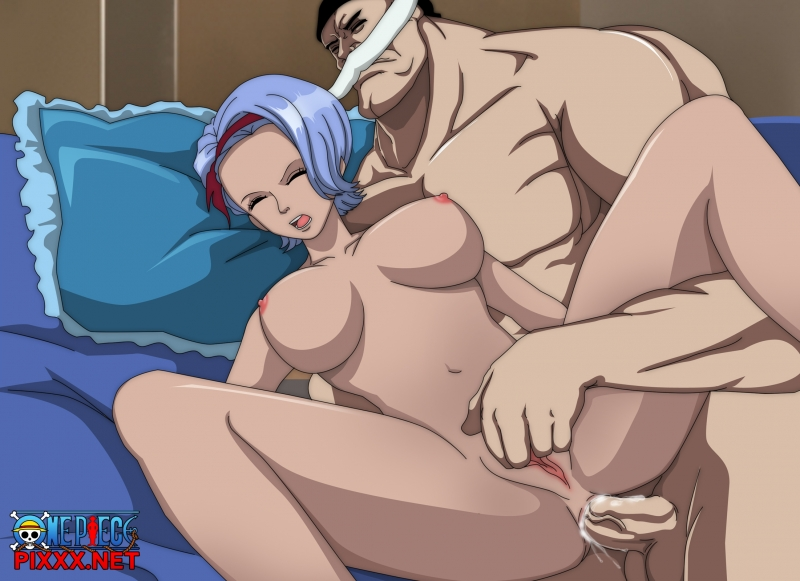 One Piece Mozu And Kiwi Hentai