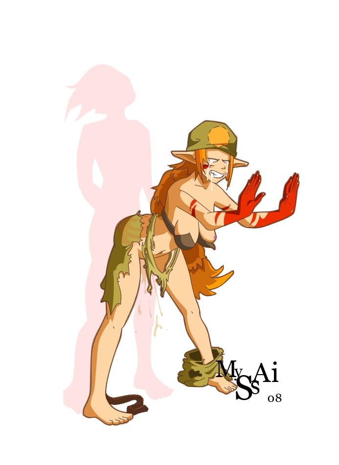 Sexy Naked Wakfu