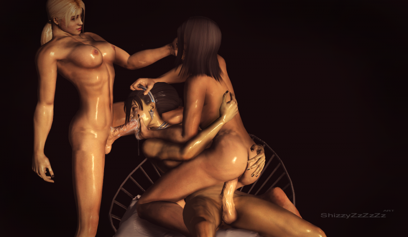 1375543 - Kitana Mileena Mortal_Kombat ShizzyZzZzZz Sonya_Blade XNALara xps.png