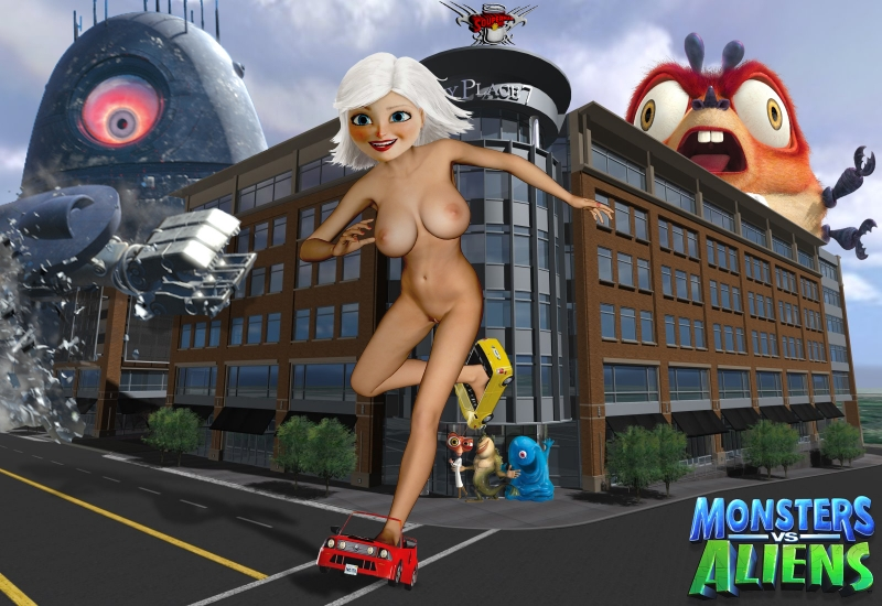 Susan Murphy 444506 - B.O.B. Bizarro_Souperman Dr._Cockroach Ginormica Monsters_vs_Aliens Robot_Probe The_Missing_Link insectosaurus.jpg