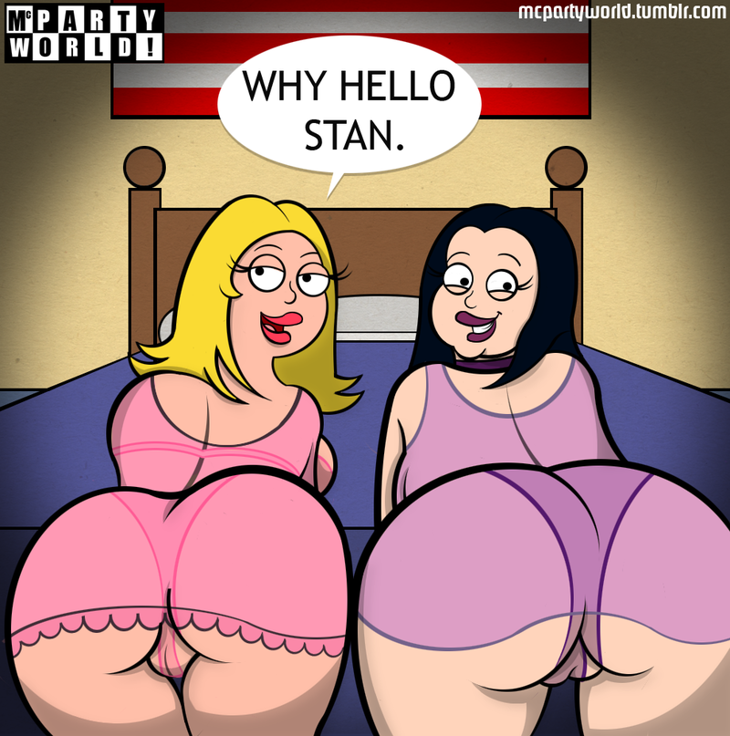 Francine Smith and Debbie Patterson want try Stan Smith dick right now