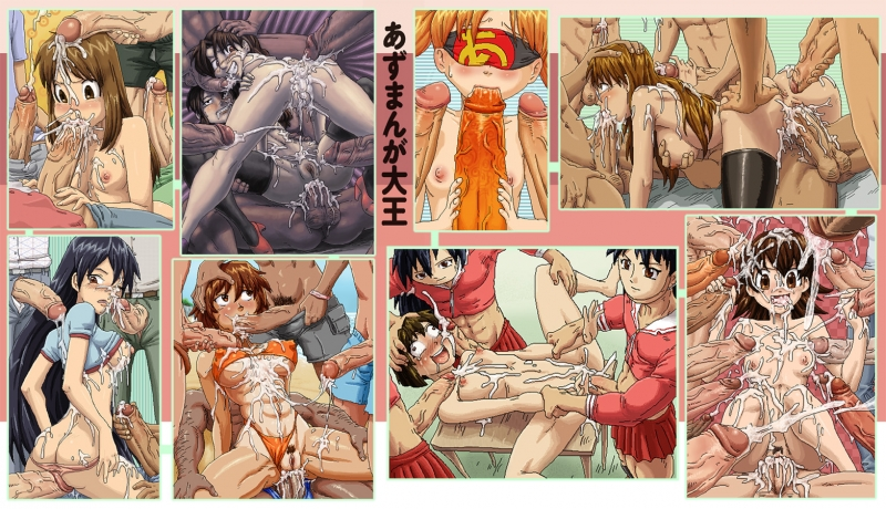 438711 - Azumanga_Daioh Chiyo-chan Kagura Kaorin Minamo_Kurosawa Sakaki Tomo Yomi Yukari_Tanizaki osaka sparrow.jpg