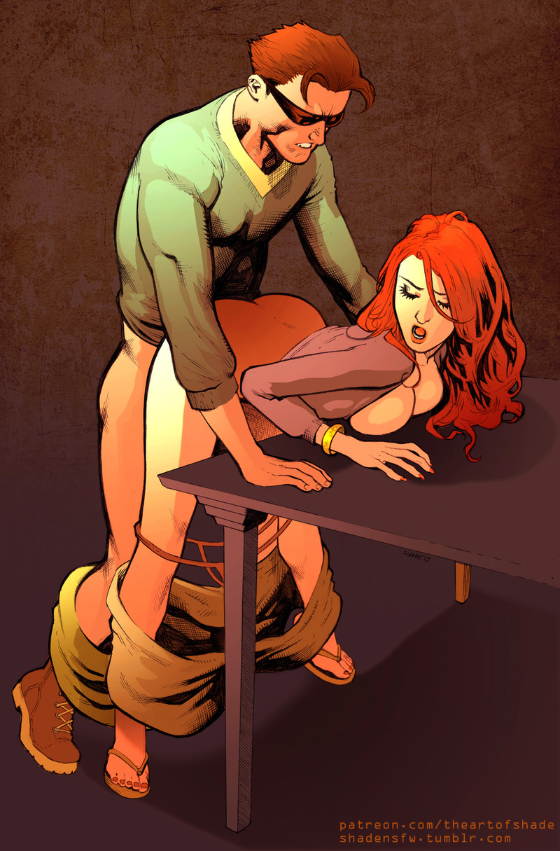 Scott Summers Jean Grey-Summers Teletha Tessa Testarossa Jean Grey share_it_143cd6d7285538700129e9646a767112
