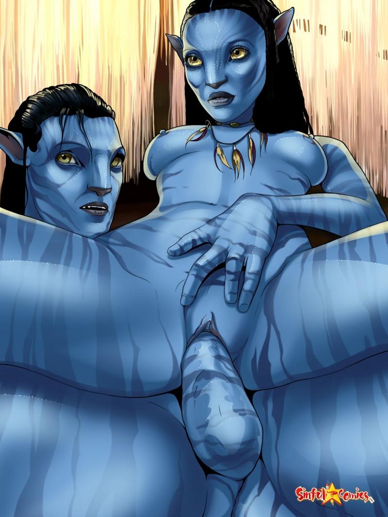 1267611 - Jake_Sully James_Cameron's_Avatar Na'vi Neytiri Sinful_Comics.jpg