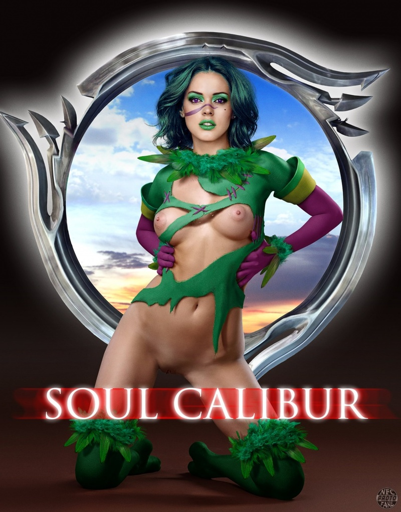 For soul calibur 4 amy porn something also