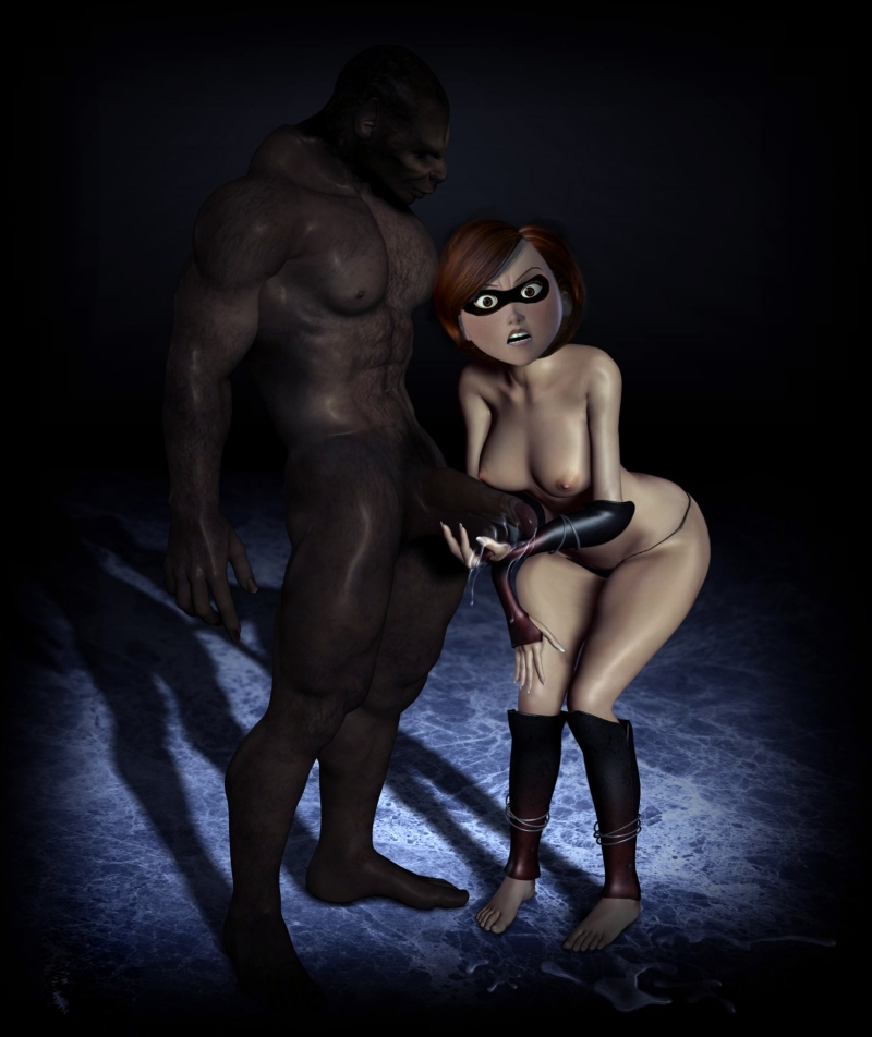 Incredibles Elastigirl Nude