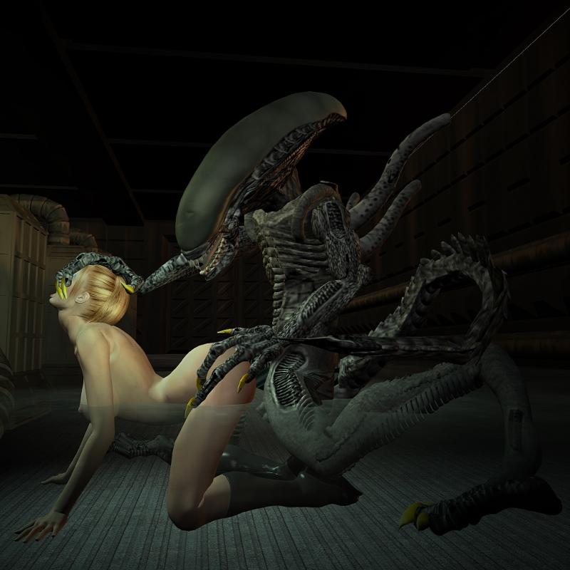 908640 - Alien Seven_of_Nine Star_Trek Star_Trek_Voyager Xenomorph crossover.jpg