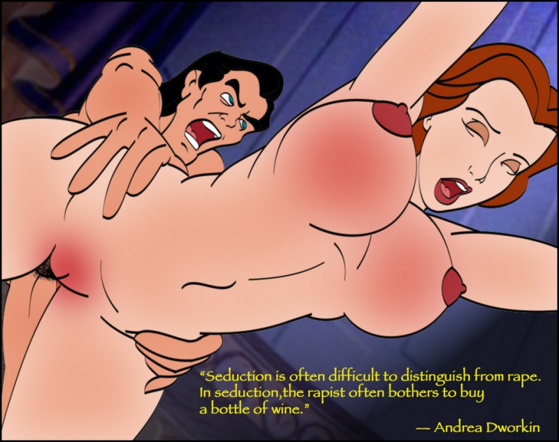 Belle gets fucked by Gaston pretty hard this time