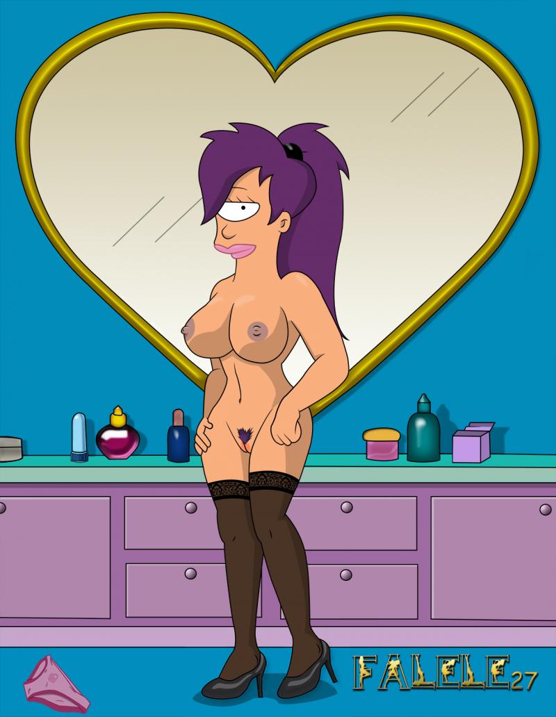 Leila Futurama Naked
