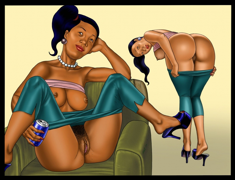 There are luxurious ebony milfs in Hank Hill's neighborhood!