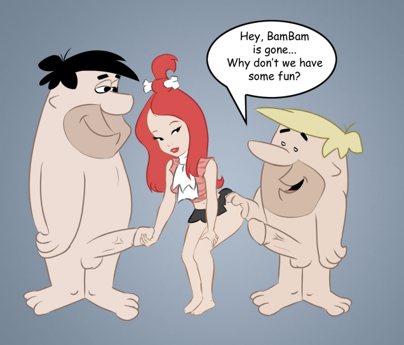 Fred Flintstone Pebbles Flintstone 647376 - Barney_Rubble Fred_Flintstone Pebbles_Flintstone The_Flintstones juvmc.jpg
