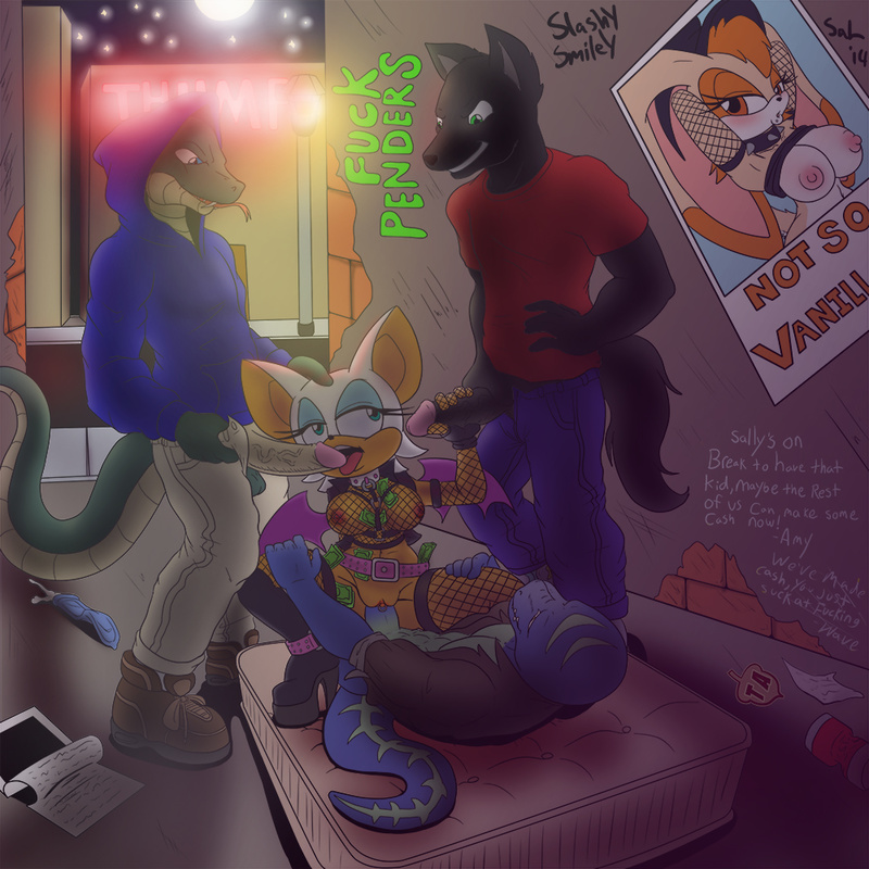 1427924 - Rouge_the_Bat Sal SlashySmiley Sonic_Team Vanilla_the_Rabbit blazeymix.jpg