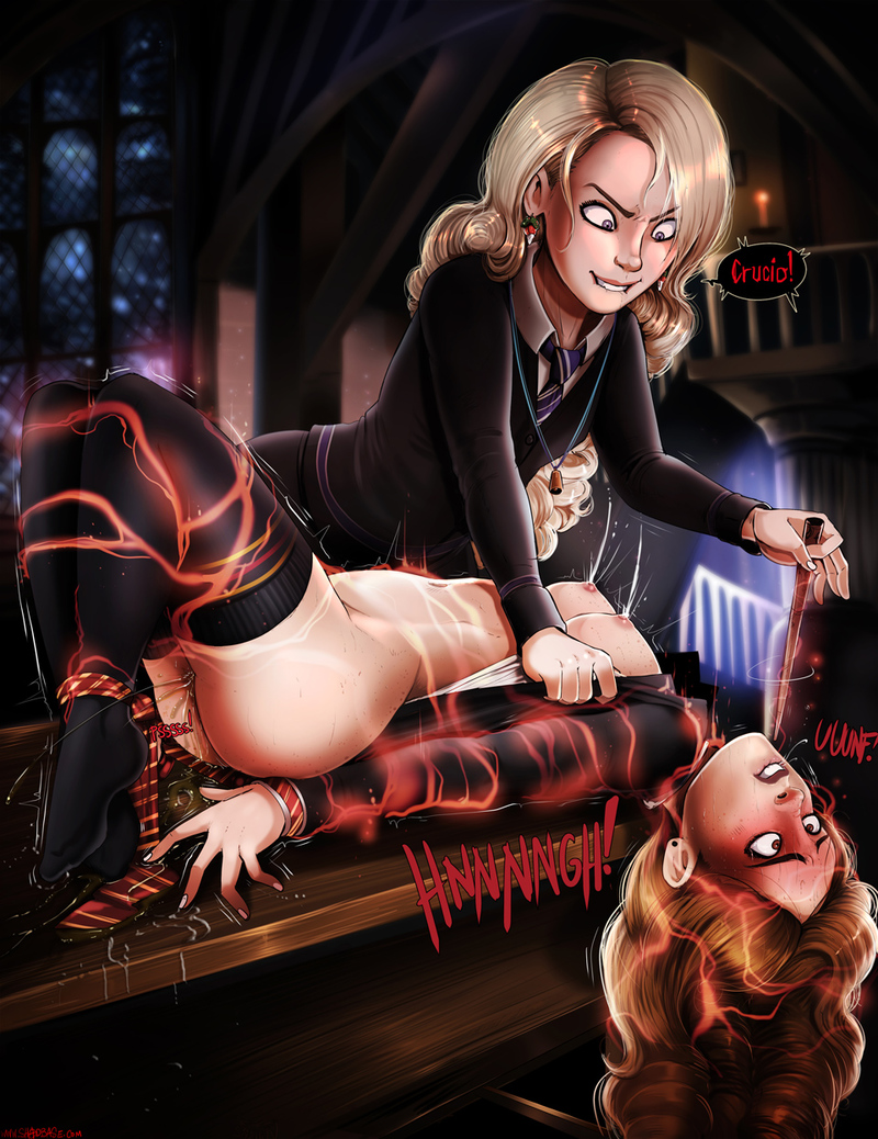 Luna Lovegood luvs to have fun wild games... notably with this bisexual-atch Hermione!