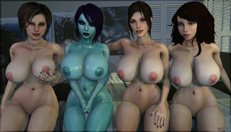 Trishka Novak 1195408 - Bulletstorm Lara_Croft Tomb_Raider Trishka_Novak crossover soria vaako.jpg