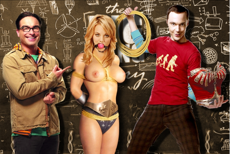 1004672 - DC Johnny_Galecki Kaley_Cuoco Leonard_Hofstadter Penny Sheldon_Cooper Simon_Helberg The_Big_Bang_Theory Wonder_Woman cosplay fakes jeffach und