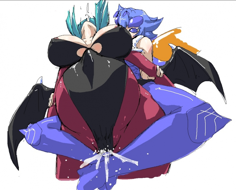 1329371 - Darkstalkers Morrigan_Aensland Q-Bee.jpg