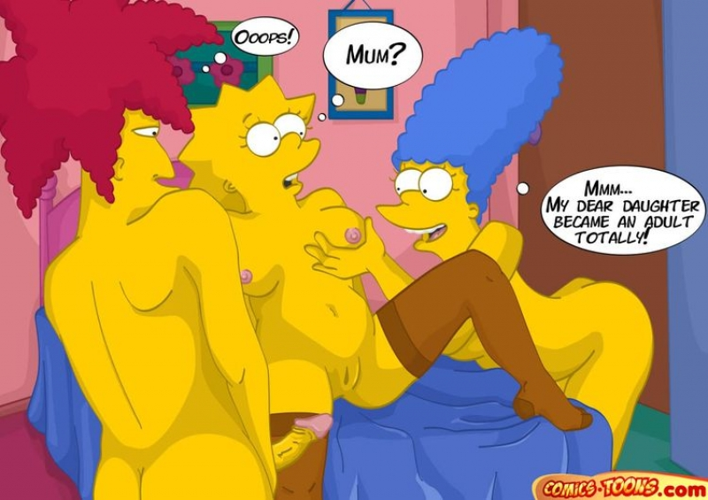 Simpsons Comics Sex