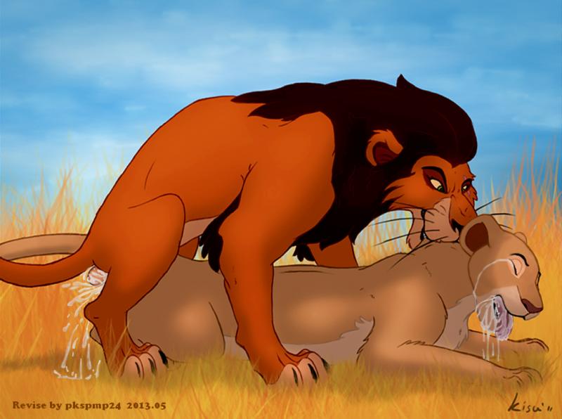 Горячая порно львица