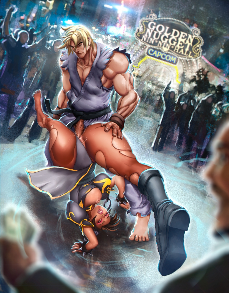 Street Fighter Sex Comics
