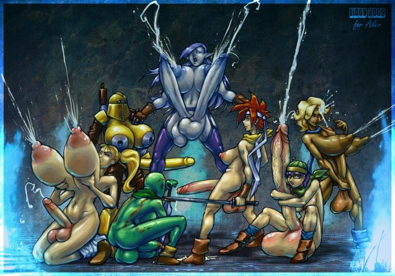 376164 - Ayla Chrono_Series Chrono_Trigger Crono Frog Linty Lucca Magus Marle robo.jpg