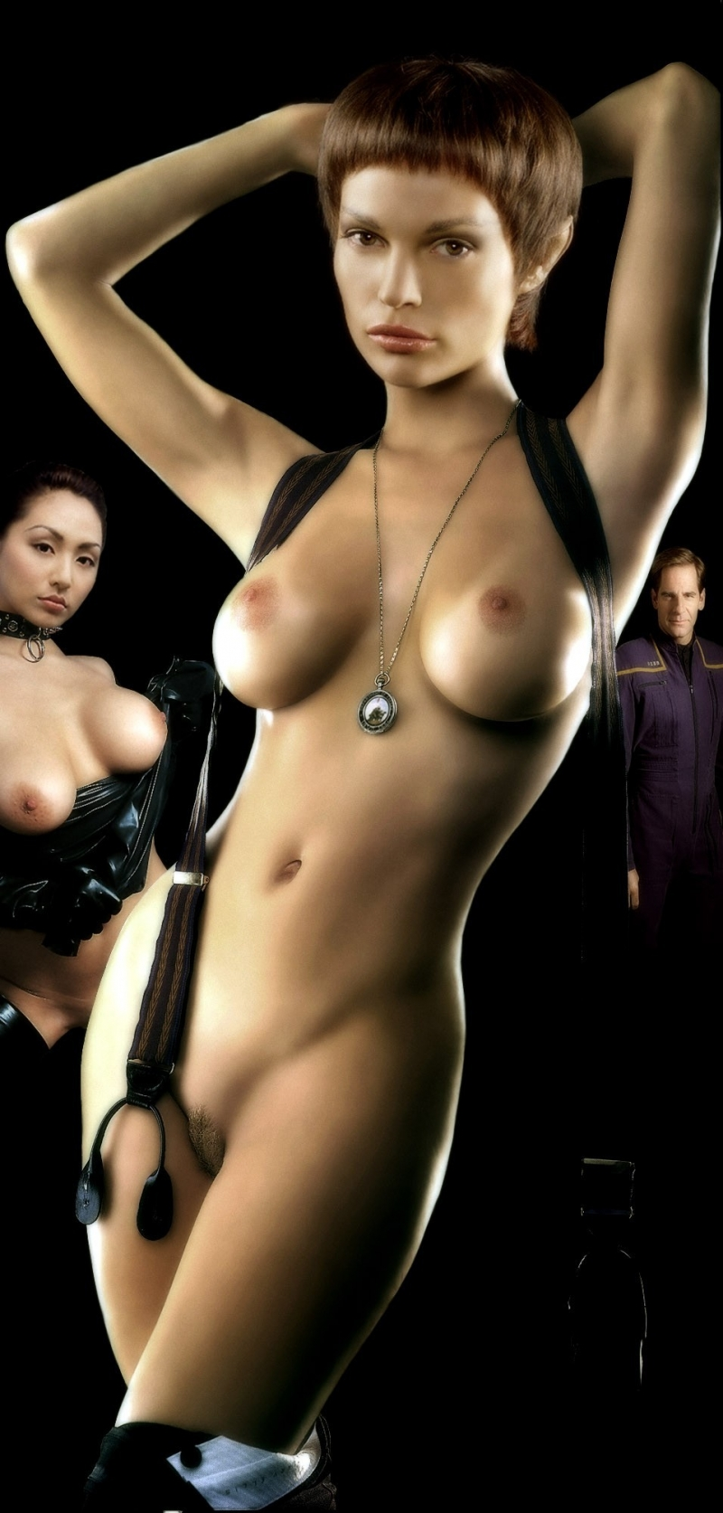 T'pol looks awesome when nude!