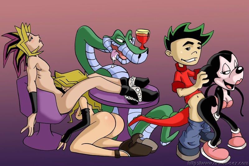Jake Long 241_49604_American_Dragon_Jake_Long_Crossover_Disney_Jungle_Book_Mai_Valentine_Minnie_Mouse_Yu_Gi_Oh.jpg