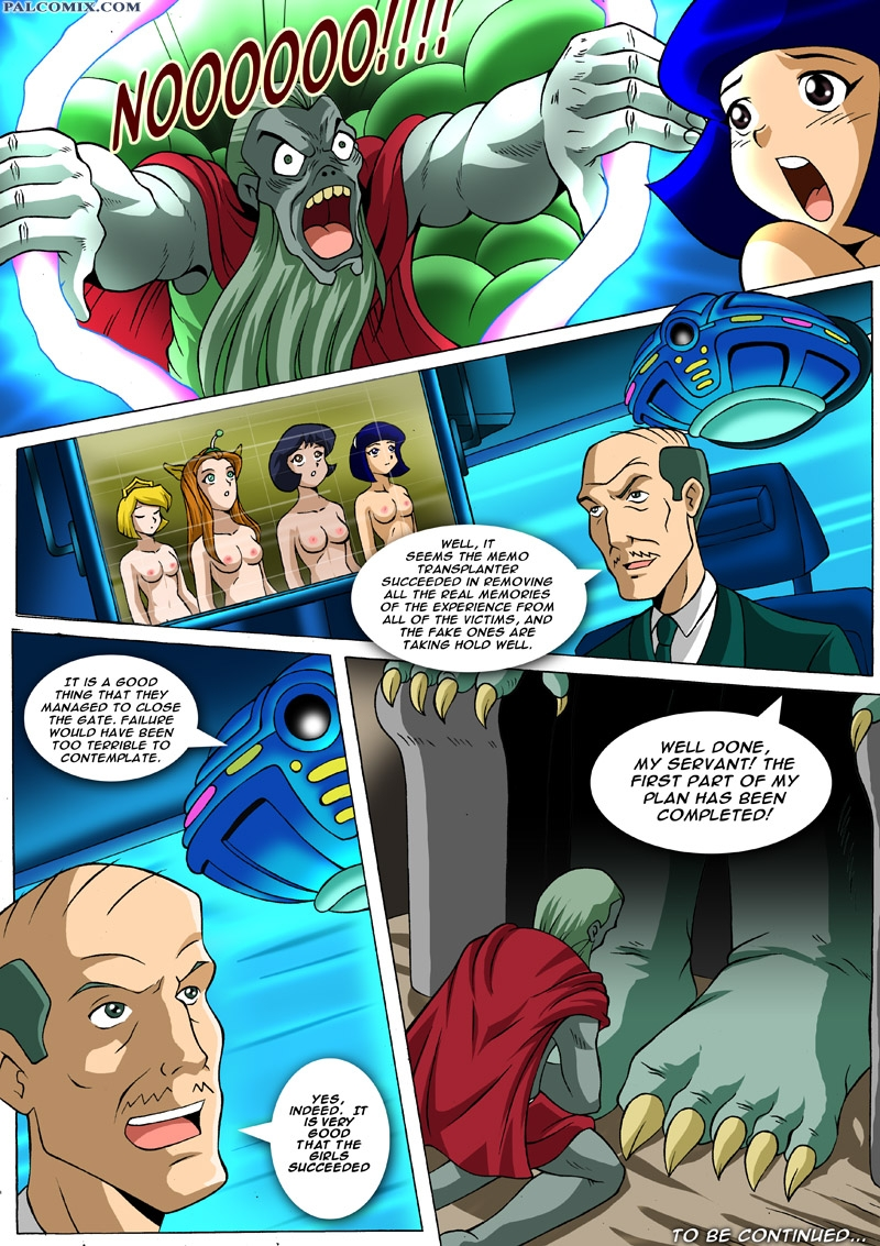 Totally Spies Hentai Porn Doujinshi