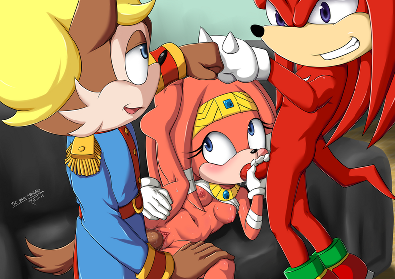 1638180 - Antoine_D'coolette Knuckles_the_Echidna Sonic_Team The-Dark-Mangaka Tikal_the_Echidna.png
