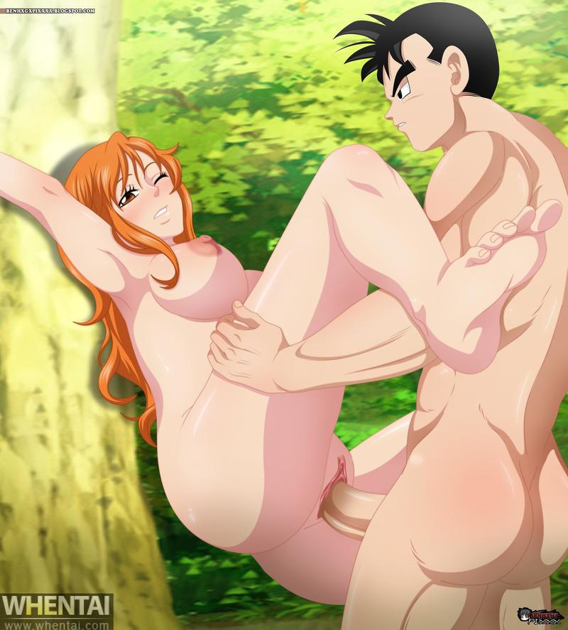 1210660 - Dragon_Ball_Z Nami One_Piece Son_Gohan benhxgx crossover.jpg