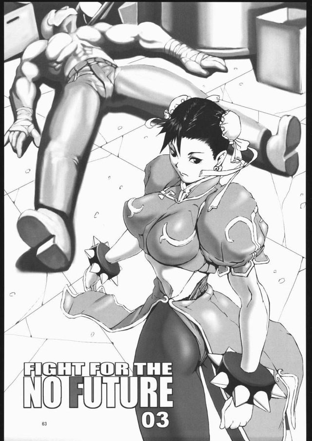 Fight for No Future - Chapter3: Chun Li vs Lots of insane weirdos