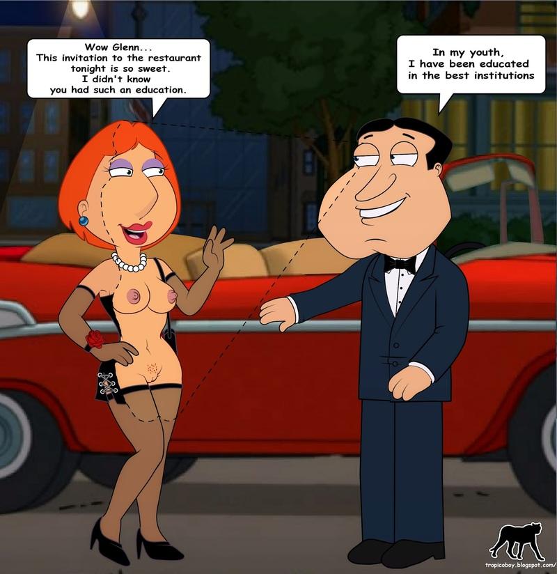 Quagmire nude idea has