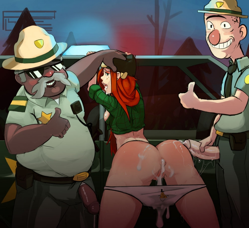 Brave cops of Gravity Falls has prooved that Wendy is anal slut... two times!