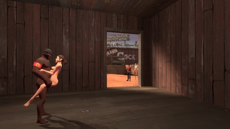 1181854 - Chell Demoman Left_4_Dead Portal_2 Rule_63 Scout Team_Fortress_2 Zoey crossover gmod.jpg