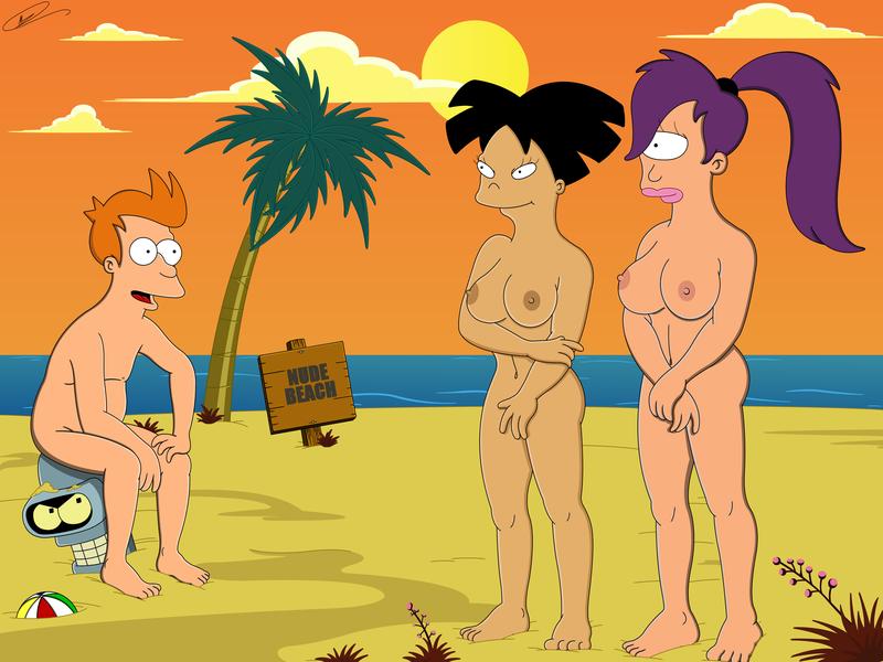 Futurama nudist porn — pic 15
